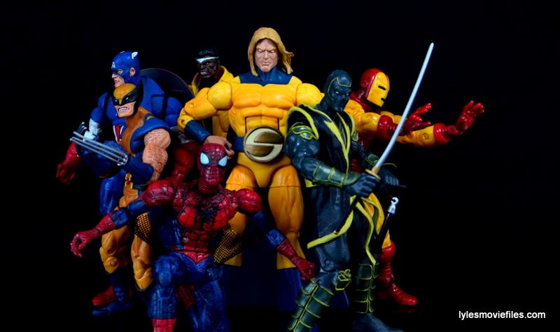 Marvel Legends Sentry figure review - New Avengers