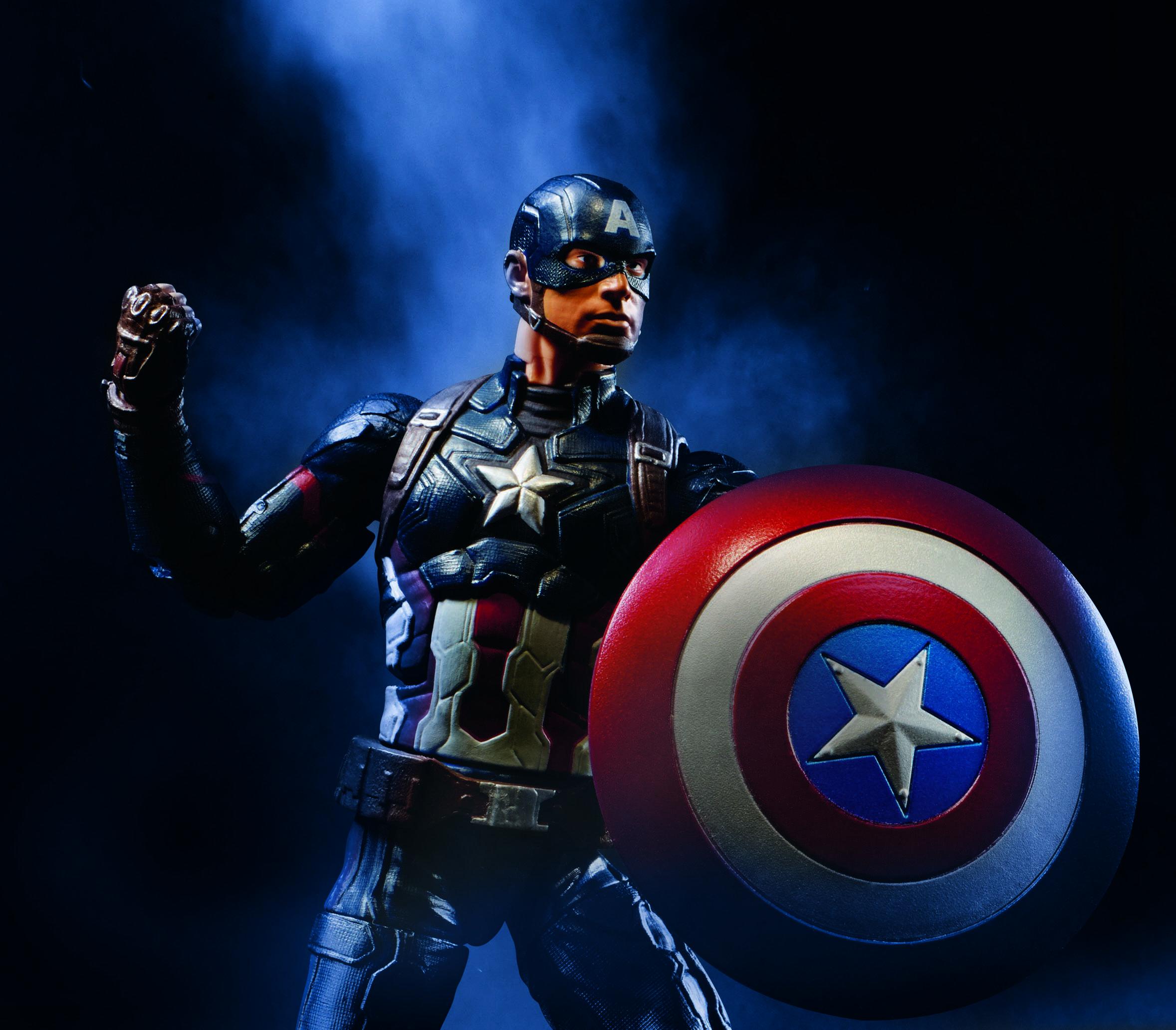 Captain America In Captain Marvel