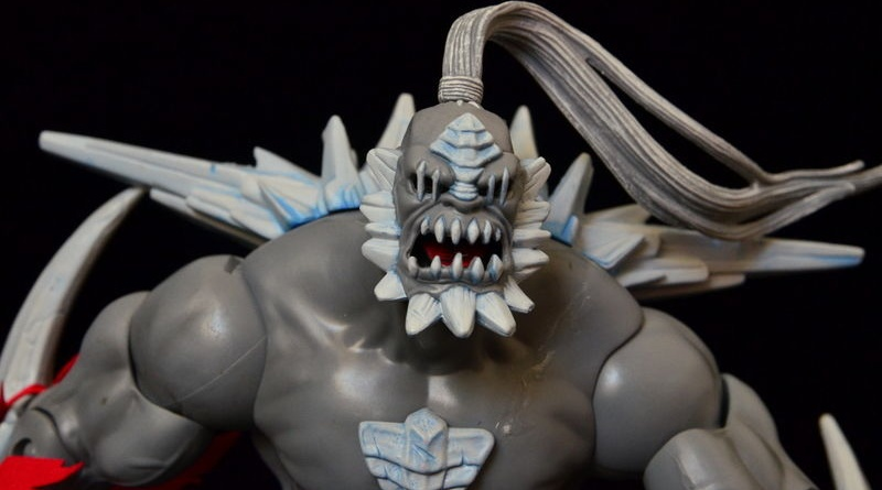 dc signature series doomsday review - head close up
