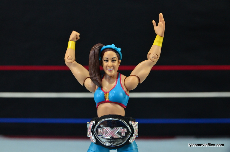 WWE Bayley figure review - with NXT title
