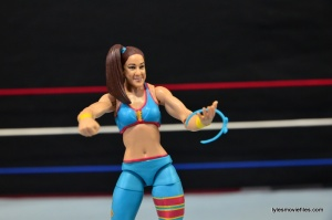 WWE Bayley figure review - with headband