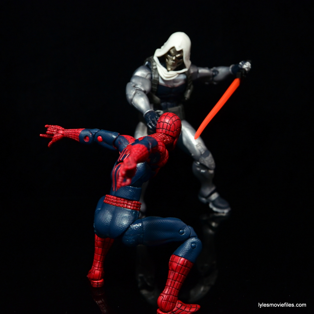 Marvel Legends Taskmaster figure review - BAF Onslaught wave