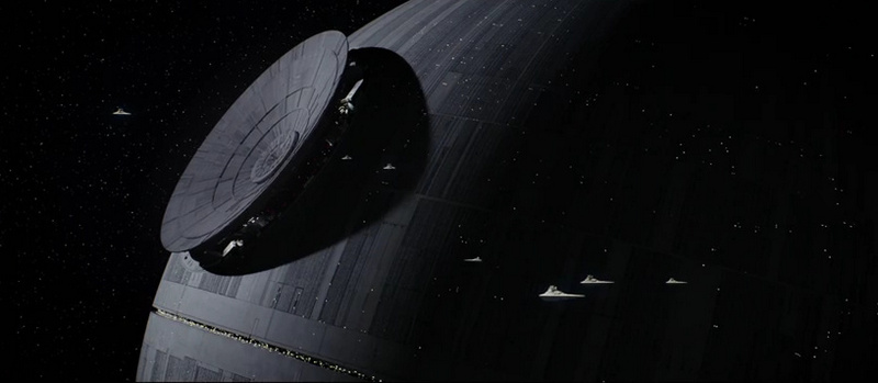 ROGUE ONE A STAR WARS STORY - the Death Star