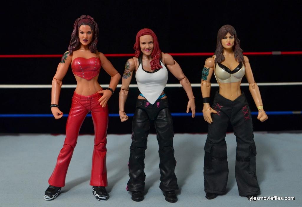 WWE Elite 41 Lita figure -with Jakks Lita figures