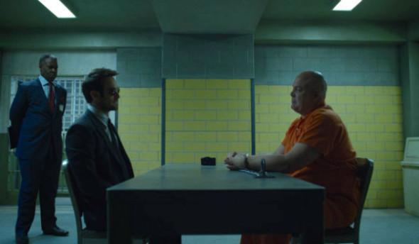 daredevil season 2 - man in the box review - matt and fisk