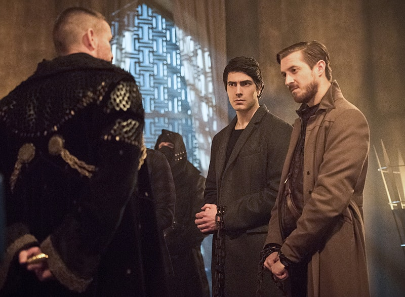 legends of tomorrow left behind review - ra's al ghul, ray and rip hunter-min