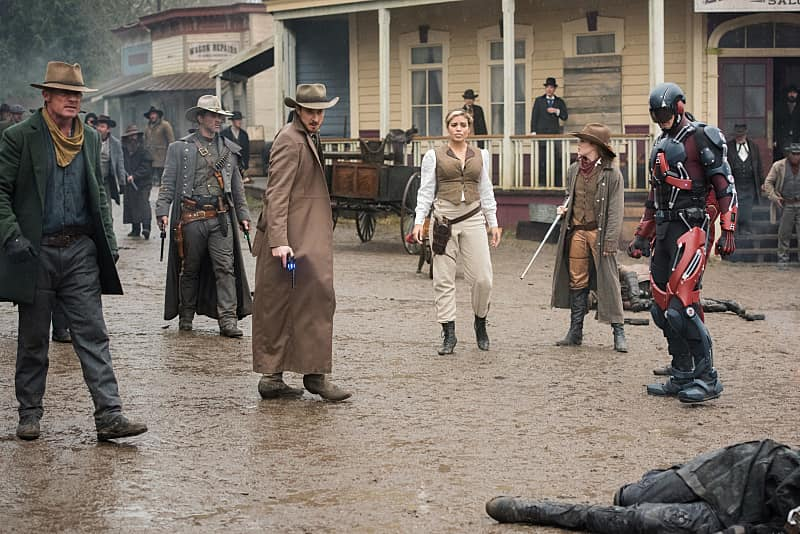 legends of tomorrow the magnificent eight rory, jonah hex, rip, kendra and atom-min