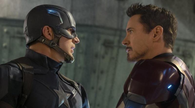Captain America Civil War pictures - Captain America and Iron Man