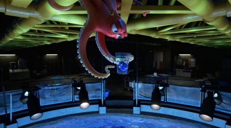 Finding Dory pictures - Hank and Dory