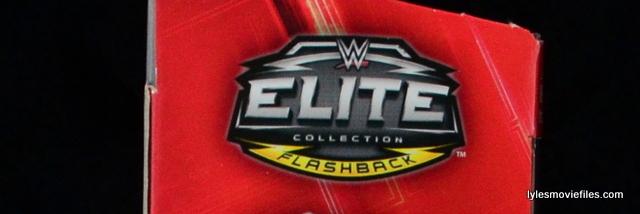 WWE Elite Flashback logo Mattel