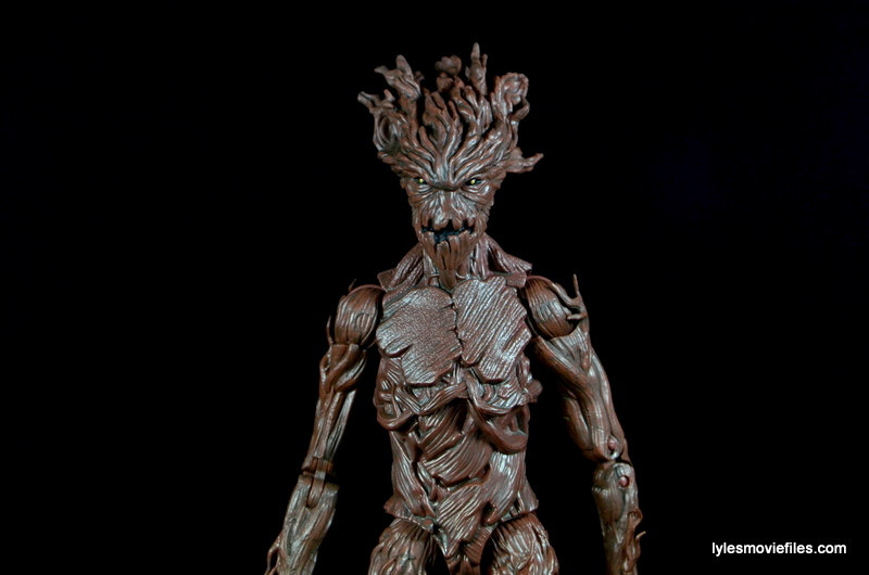 Guardians of the Galaxy Marvel Legends exclusive - Groot standing