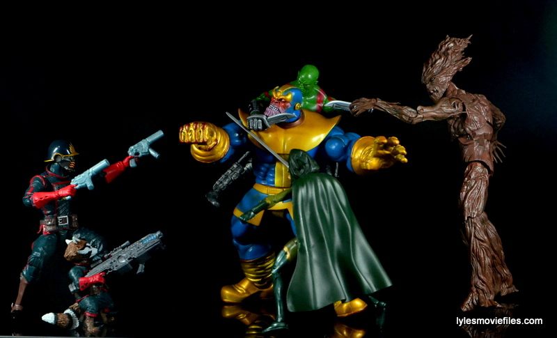 Guardians of the Galaxy Marvel Legends exclusive -Thanos vs the Guardians