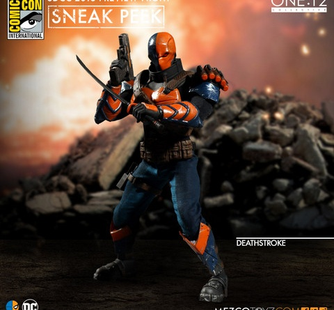 Mezco Toyz One 12 SDCC preview Deathstroke