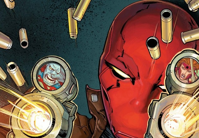 Red Hood and the Outlaws Rebirth 1 cover