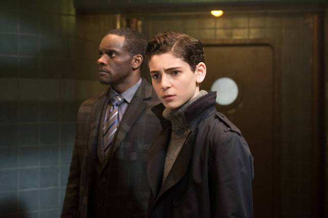 Gotham A League of Horribles review - Lucius Fox and Bruce Wayne
