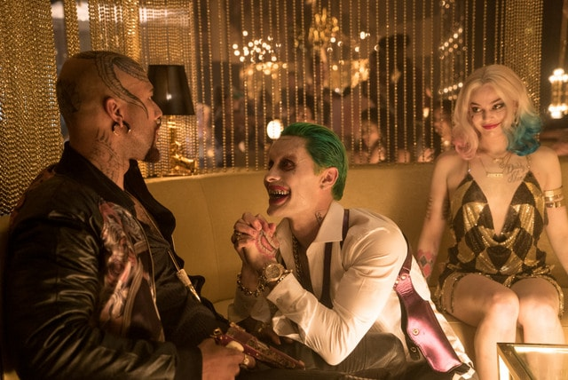 Suicide Squad movie - Common, jared leto The Joker and Harley Quinn-min