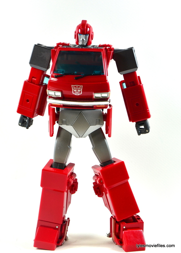 Used Work Vans >> Transformers Masterpiece Ironhide figure review MP-27