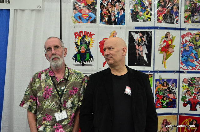 Baltimore Comic Con 2016 - Keith Giffen and Kevin Maguire