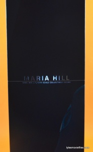 Hot Toys Maria Hill figure -package side
