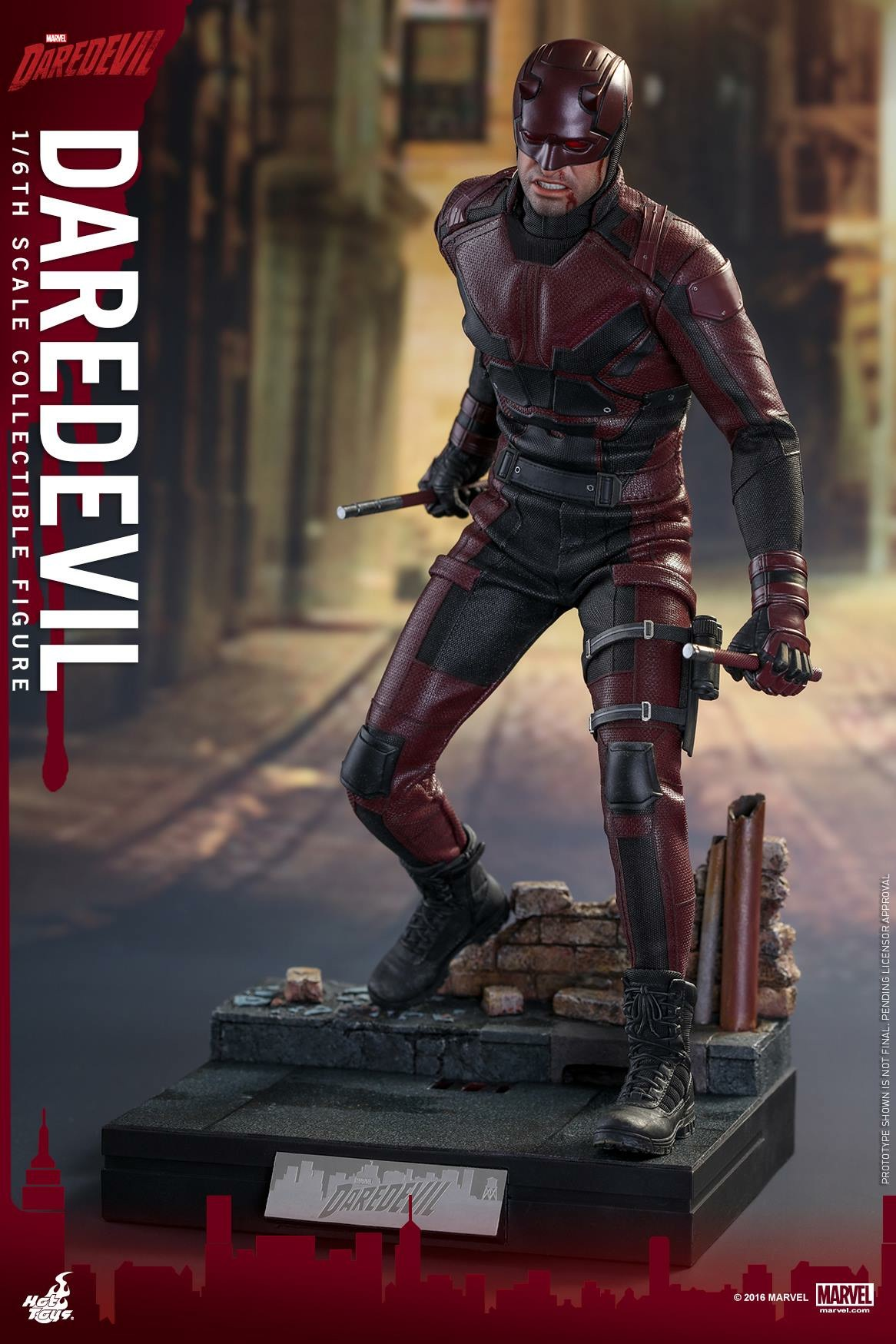 Hot Toys Netflix Daredevil Promo Pics Revealed Pre Order Info