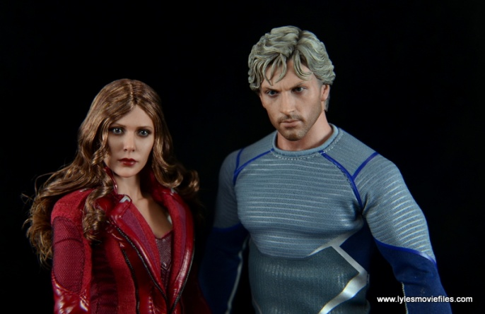 Hot Toys Quicksilver figure review - Scarlet Witch and Quicksilver
