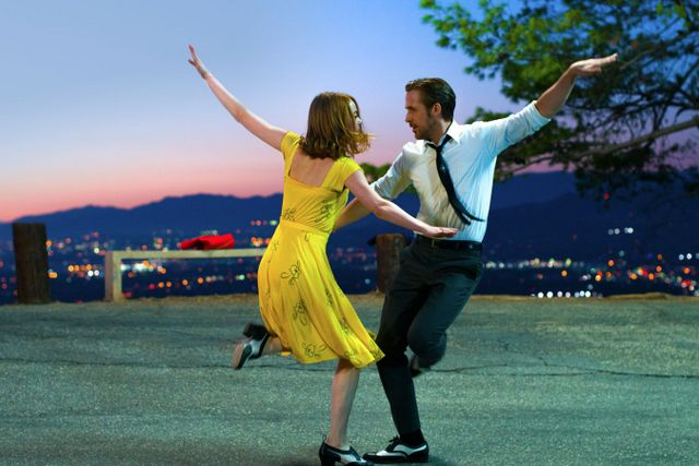 La La Land review - Emma Stone and Ryan Gosling