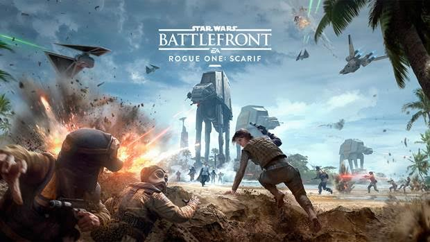 the star wars battlefront rogue one inspired dlc scarif