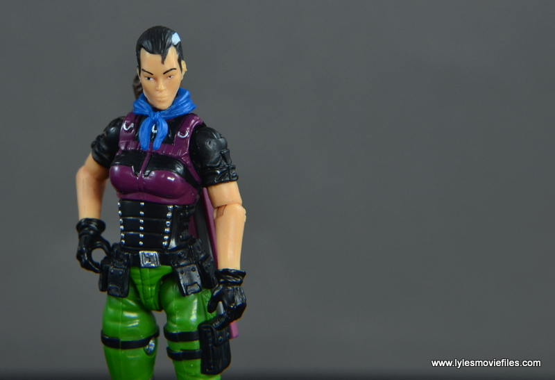 GI Joe Heavy Conflict Heavy Duty and Stiletto figure review - Stiletto off center