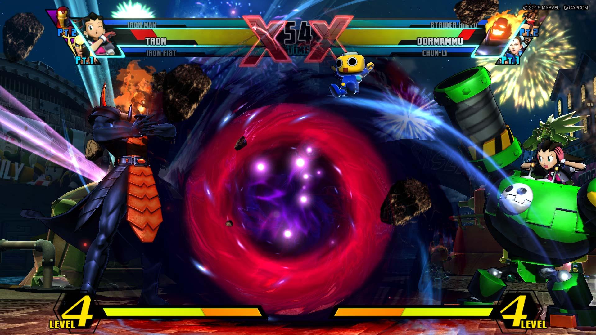 Ultimate Marvel vs Capcom 3 -Dormammu vs Tron
