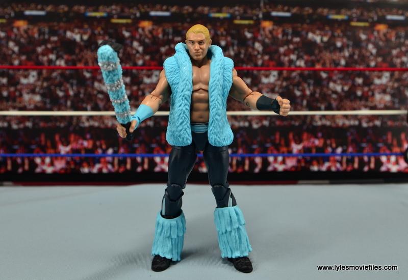WWE Elite Tyler Breeze figure review - full accessories