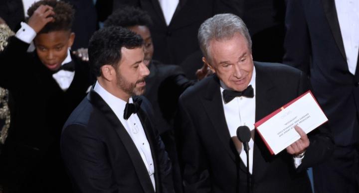 2017 - Jimmy Kimmel and Warren Beatty