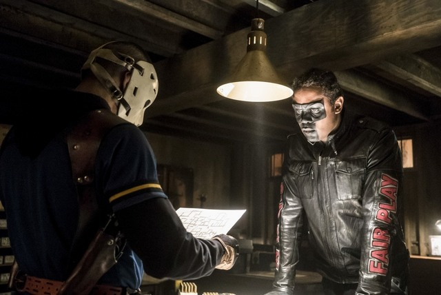 Arrow Spectre of the Gun review - Wild Dog and Mr Terrific
