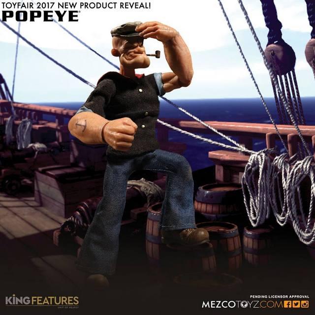 Mezco Toys One 12 Popeye