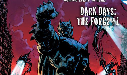 DC Comics June 2017 The Forge