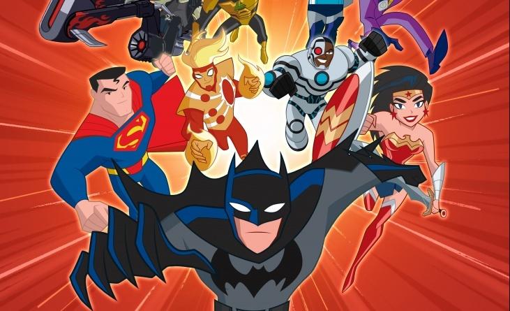Justice League Action Run Splash Screen