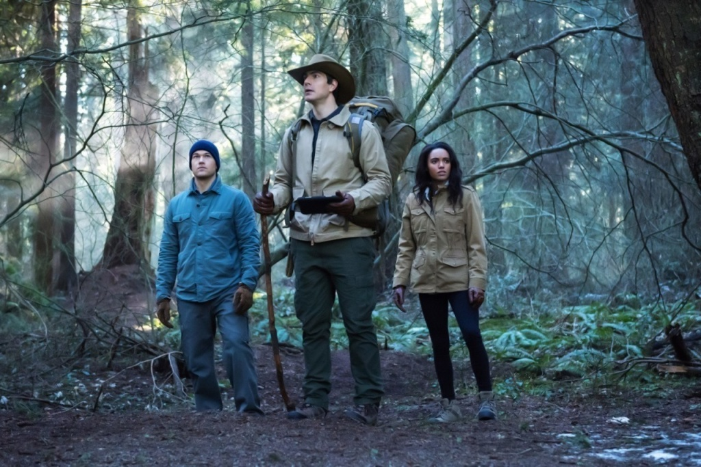 Legends of Tomorrow Land of the Lost - Nate, Ray and Amaya