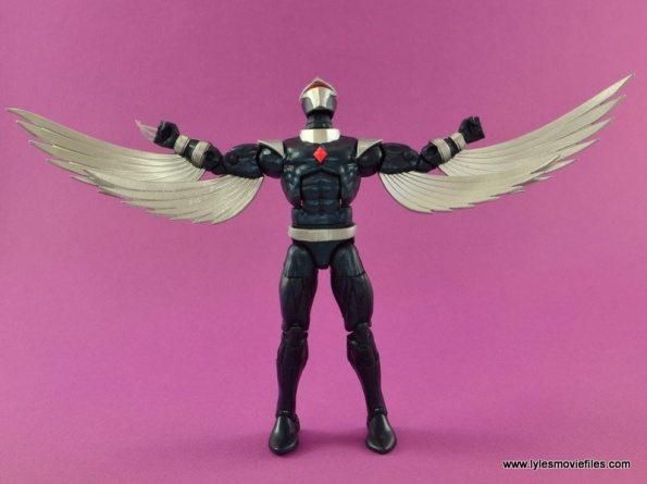 Marvel Legends Darkhawk figure review - wings out