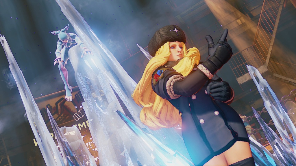 Street Fighter V - Kolin walking off