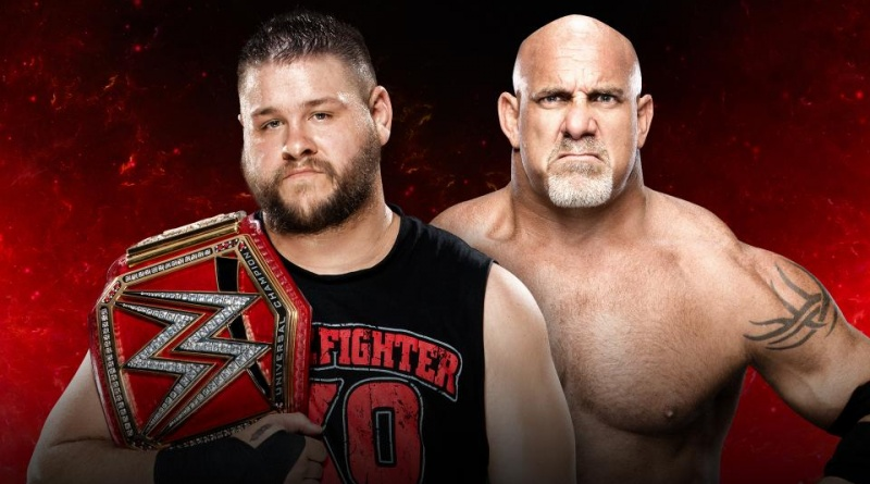 WWE Fastlane 2017 - Kevin Owens vs Goldberg