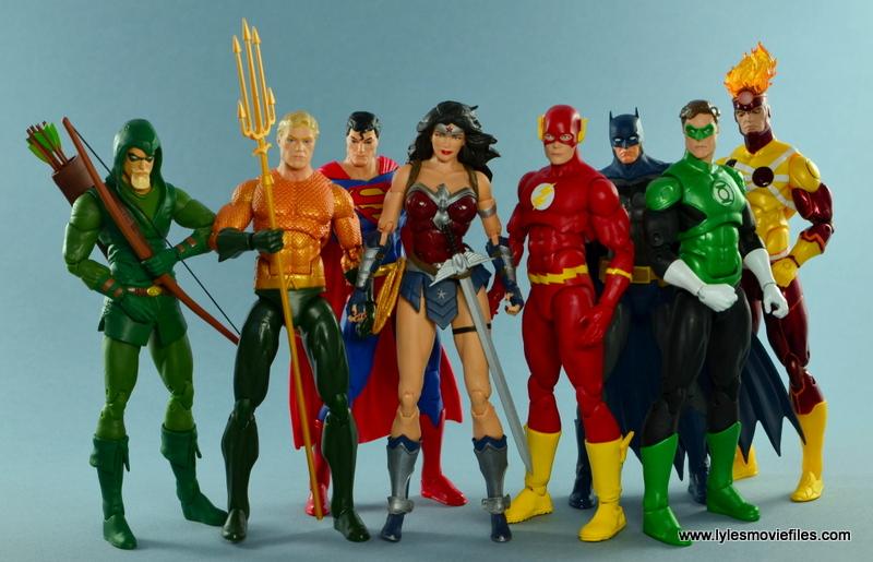 DC Icons Wonder Woman figure review -Justice League