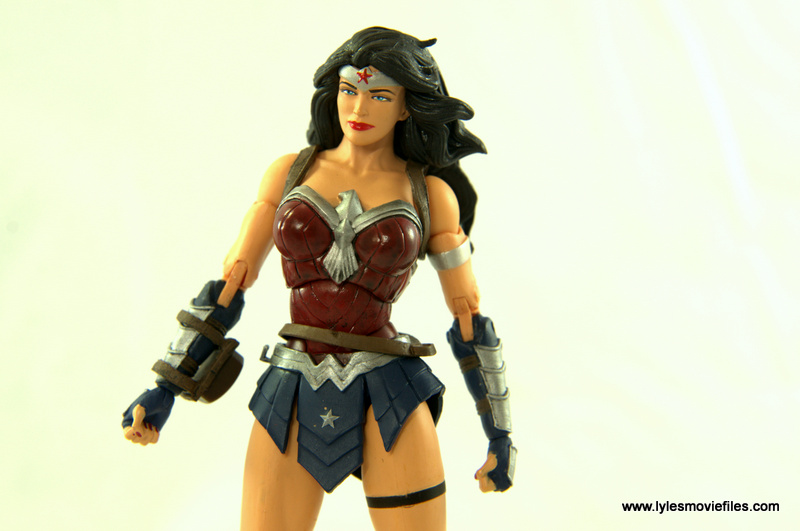 DC Icons Wonder Woman figure review -breastplate details