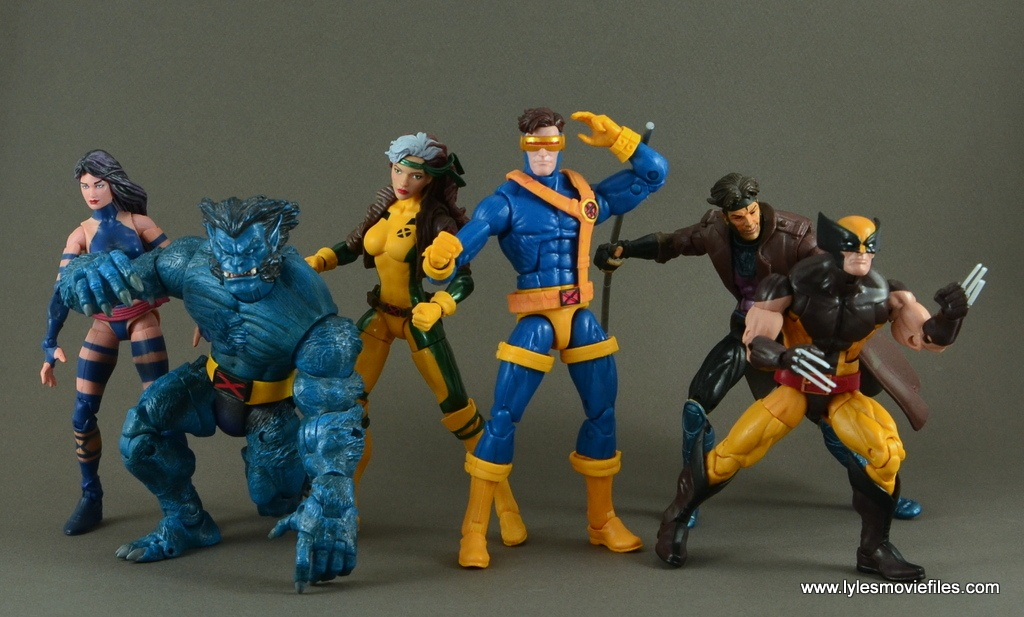 Marvel Legends Cyclops figure review -Jim Lee X-Men