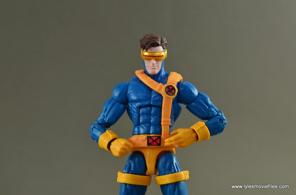 Marvel Legends Cyclops figure review -main pic