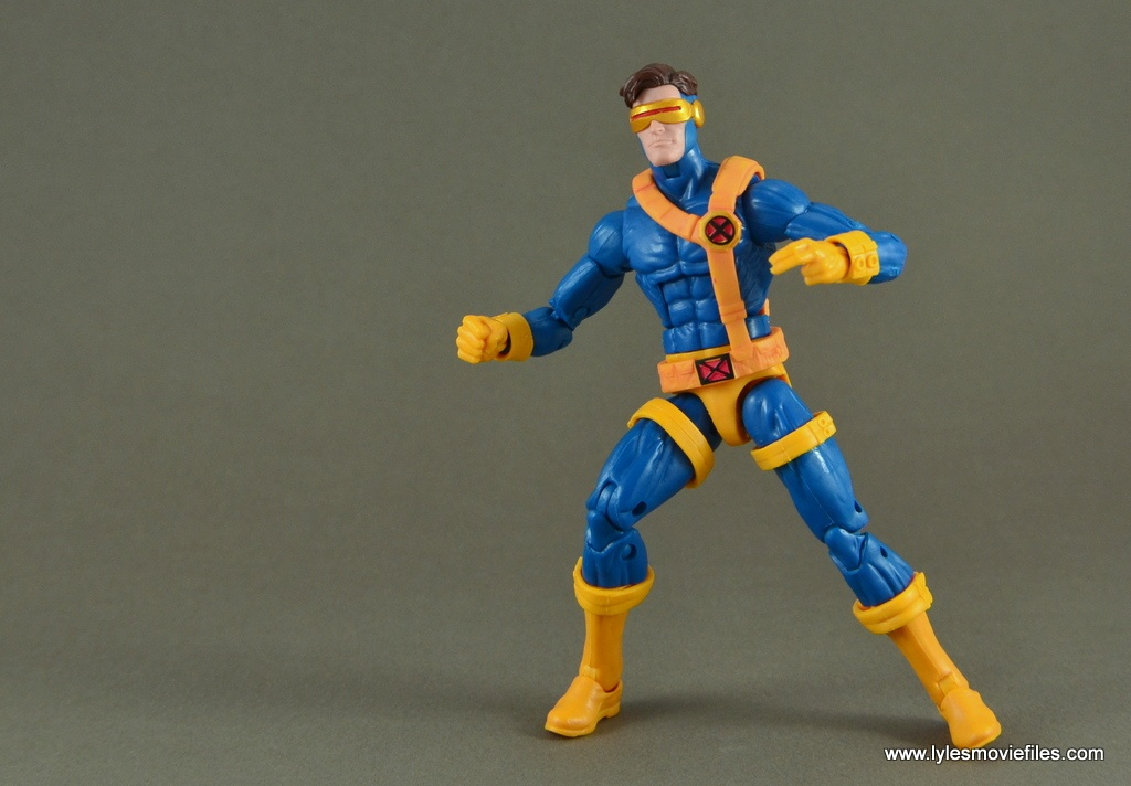 Marvel Legends Cyclops figure review -ready for battle