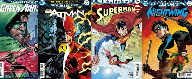 DC Comics reviews 4/19/17