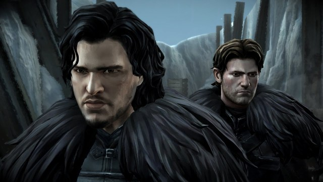 Game of Thrones A Telltale Game Series - Jon Snow and Gared