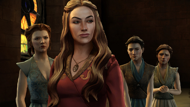 Game of Thrones A Telltale Game Series - Margaery, Cersei, Mira and Sera