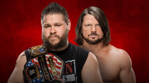 WWE Backlash 2017 - Owens vs AJ