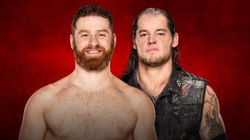 WWE Backlash 2017 - Sami Zayn vs Baron Corbin