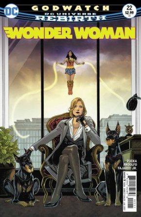 Wonder Woman #22 cover